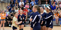 HMS Volleyball vs Blountville and Colonial Heights 08-21-17