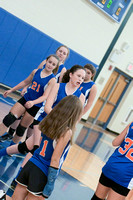 HMS Volleyball vs Unicoi County and Ridgeview 08-17-17